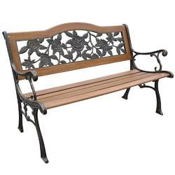 Cast Iron Garden Outdoor Bench