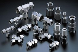 Stainless Steel Compression Tube Fittings, For Industrial
