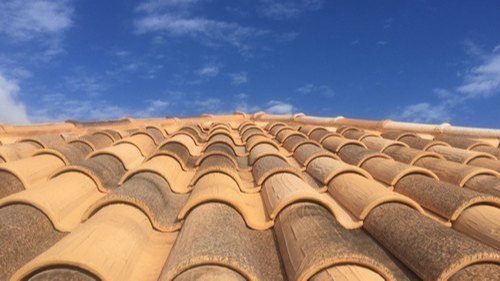Color Coated Premium Clay Roof Tiles
