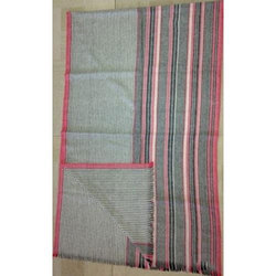 Wool Yarn Dyed Stripe Shawls