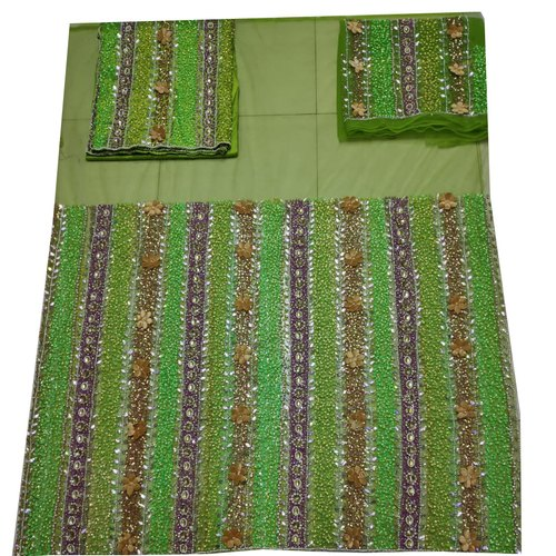 Lemon green African George Wrapper FAbric