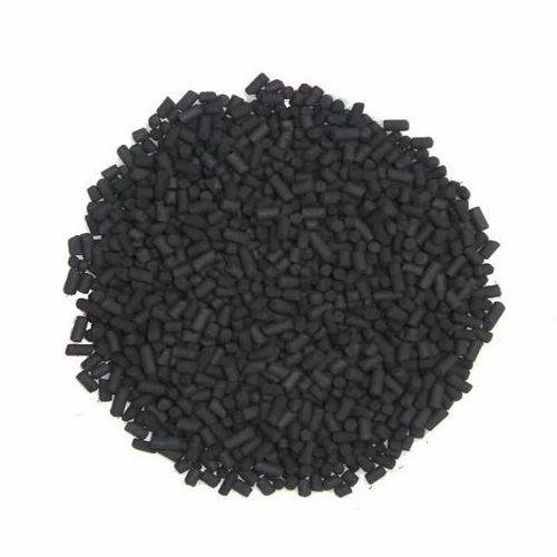 Black Activated Carbon Pellet, Packaging Type: Bag
