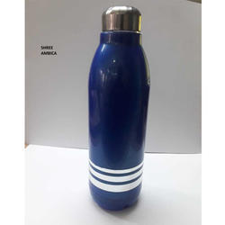 Blue Insulated Water Bottle