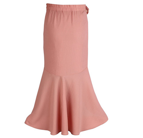 58ac20600 Girls Georgette Embellished Peach below Knee Length Skirt at Rs 524 ...