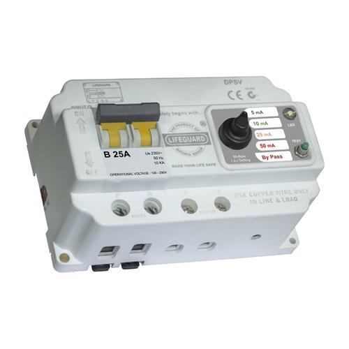 Residual Current Circuit Breaker on