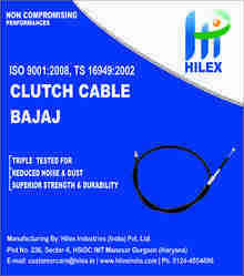 Hilex KB4S/BOXERAT/CT/AR Clutch Cable