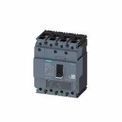 Siemens 50A Four Pole MCCB