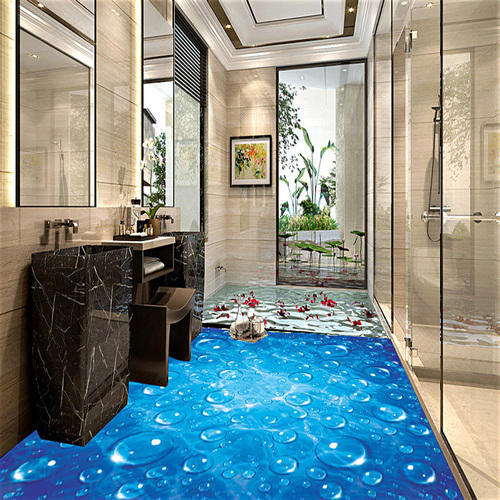 Vinyl 3d Waterproof Printing Wallpaper Thickness 1 5mm Rs 75 Square Feet Id 18113701691