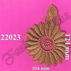Gold Zari Patch
