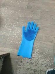 Ckeaning Gloves Kitchen Silicone Glove, Design/Pattern: Mix, Opp Pack
