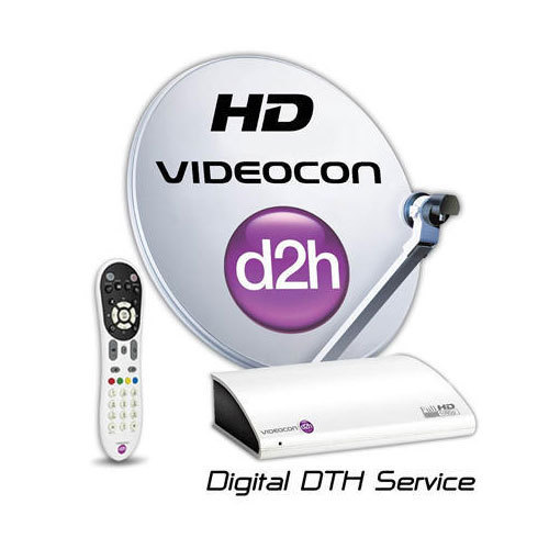 Videocon D2h Hd Box With Free One Month Gold Combo Hd Pack