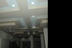 Hi-Plus Hand made finish Exposed Grid Gypsum Ceiling PVC Ceiling