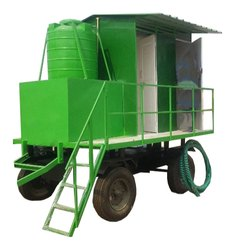Moible Toilet Van 4 Seater
