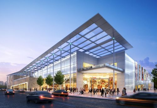 Shopping Mall Exterior 3d Design In Sector 6 Gurgaon Ab