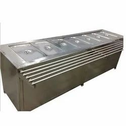 Bain Marie Counter with GN Pan