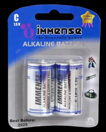 Immense Lr14 C Alkaline Battery इम स एलआर 14 स