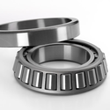 Ironlic Grey, Silver Bearing Steel & Chrome Steel Taper Roller Bearing