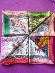 Available In Many Colors Printed Ladies Cotton Handkerchief