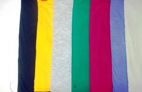 Recycle Polyester Cotton Jersey Knit Fabric