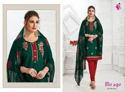 Khushika Semi Stitched Party Wear Suits
