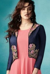 Arihant Designer Sasya Vol-15 Designer Gown Type Kurti Catalog