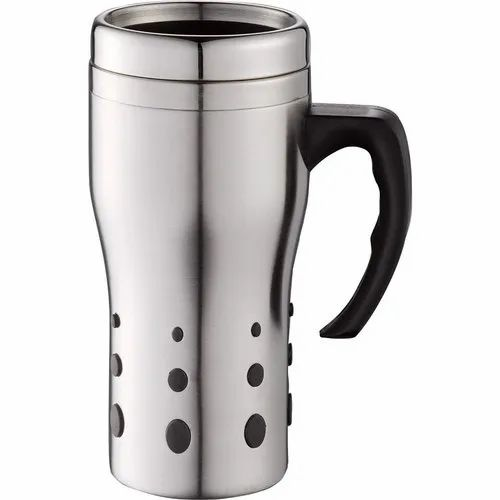90e1596541a Stainless Steel Insulated Vacuum Mug Travel Tumbler Water Coffee Tea Cup