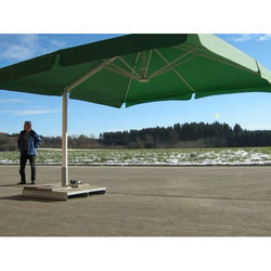 Green Cantilever Patio Umbrella