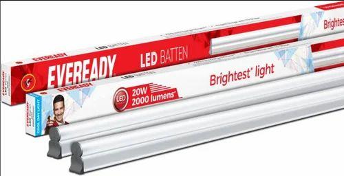 Eveready Led Batten 4ft T5 20w ( 6000k Cool Day Light) Straight Linear Led  Tube Light (pack Of 2)