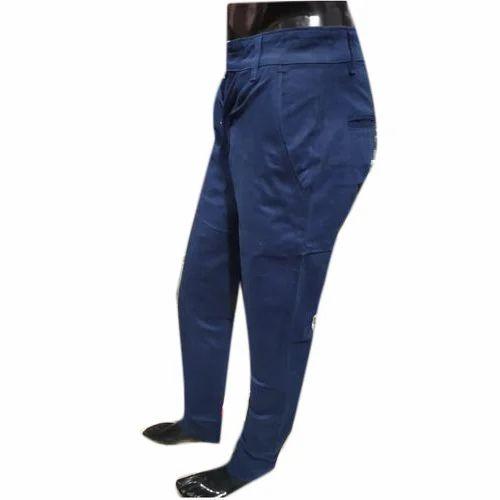 fc31f40cad5 Blue Mens Cotton Pant