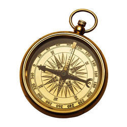 Golden Color Nautical Compass