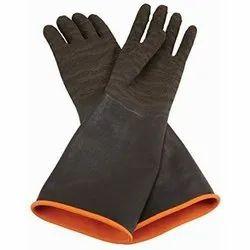 Full Finger Leather Blasting Gloves
