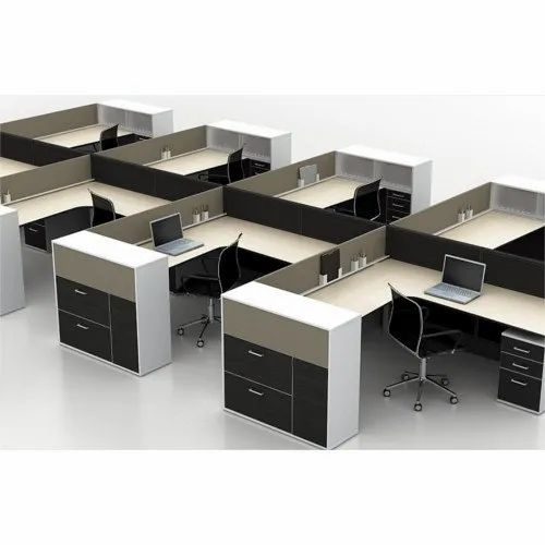 Rectangular Wooden Modular Office Furniture, Size: 1200 X 600, Rs 8500  /approx | ID: 22013246255