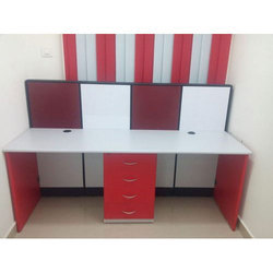 Straight Office Cubicle