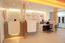 Bank Interior Designing