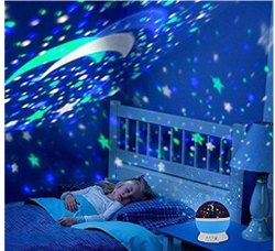 Multicolor Dream Color Changing Projection Lamp, Size/Dimension: 5x6x5 inch