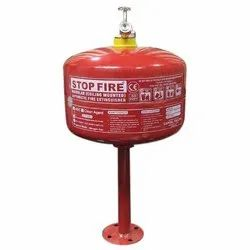 Powder and Clean Agent 2Kg Ceiling Mounted Fire Extinguishers, Capacity: 2 kg