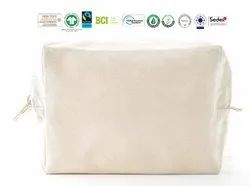 Gots Organic Cotton Pouch Bag