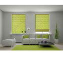 Green Printed Interior Roman Blind, Thickness: 4-10 Mm