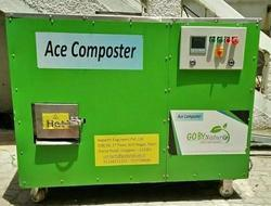200 Kg Capacity Organic Waste Composter