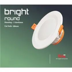 5 Watt Bright Round Downlight Housing