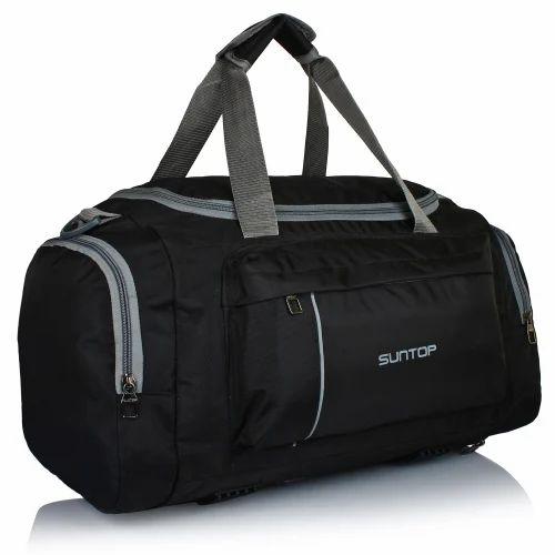 Polyster nylon Suntop Alive Duffel Bag (Jet-Black) a31f7082aa889