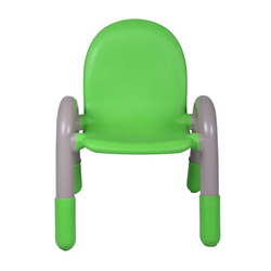 Plastic Kids Chair Green (vj-0224)