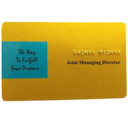 Golden Visiting Card