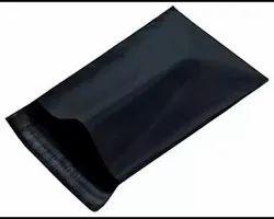 Black Color Courier Bags