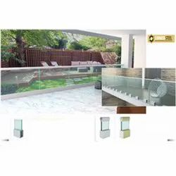 Arsenal Aluminum Glass Railing