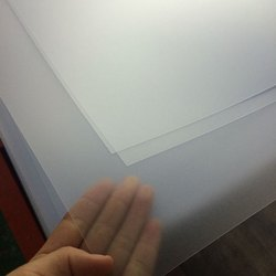 Clear Matt Rigid PVC Sheets
