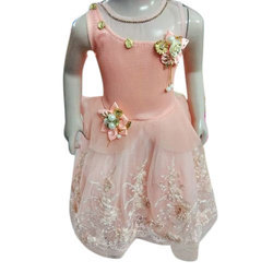 Cotton Party Wear Girls Frock