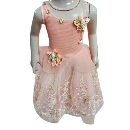 ba344643f Cotton Party Wear Girls Frock, Rs 850 /piece, Belazo Fashion | ID ...
