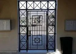 Polished Stainless Steel Doors, For Home, Single