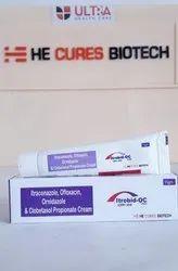 Itraconazole  Ofloxacin Ornidazole   Clobetasol Propionate Cream